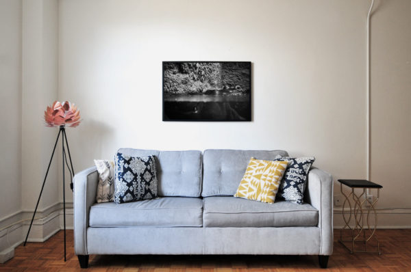 hippogittalcut print in a room